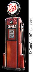 1950s, gas pumpa