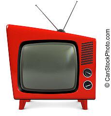 1950s, televízió díszlet