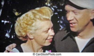 1953: Bleach blonde 1950's sass - Unique vintage 8mm film...