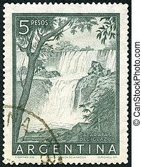 1954:, -, cataratas, 落ちる, deliguazu, アルゼンチン, iguacu, ショー
