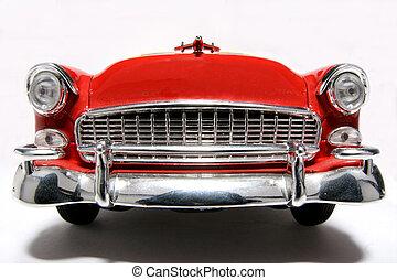 1955, voiture, nous, classique