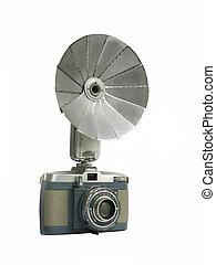 1956 Camera with Flash Reflector