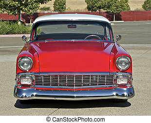 1956, two-door, hård, top, 2