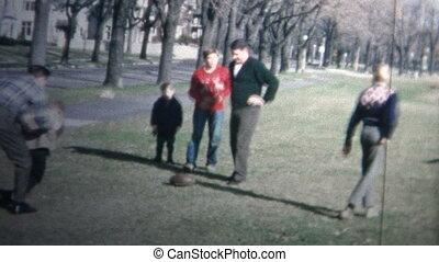 1958 - Holiday Family Football Game - Original vintage 8mm...