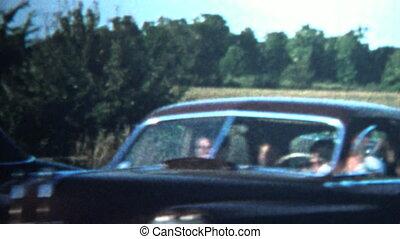 1958 - Wild 1950's Kids Riding - Original vintage 8mm home...