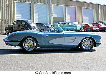 1959, américain, 5, roadster