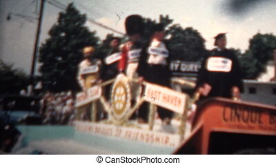 1959 - Rotary Club Parade Float