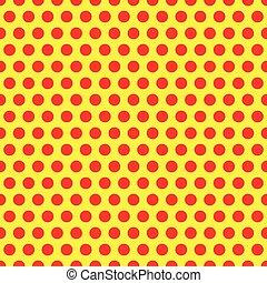 1960s., symbolique, fond, art, pattern., fond, pointillé, pop