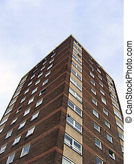 1960s Tower Block in England - Residential Tower Block in ...