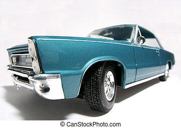 1965, classique, nous, voiture