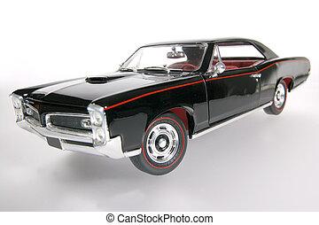 1966, klasyk, na, wóz