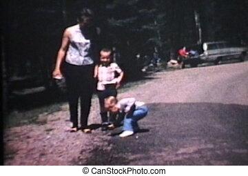 (1967), cabine, vacances, famille