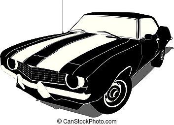 1969 Chevy Camaro Silhouette