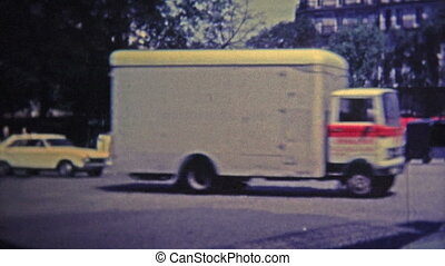 1969: Touring around the city at - Unique vintage 8mm film...