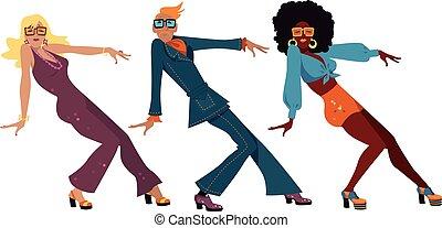 1970s dance party
