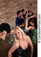 1970s, música discoteca, partido