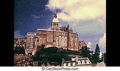 1970s Mont Saint-Michel