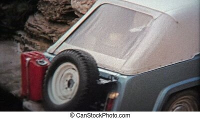 1971: Advanced Jeep offroad trails - Unique vintage 8mm film...