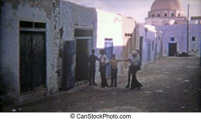 1972: Moroccan ancient old town - 100% unique vintage 8mm...