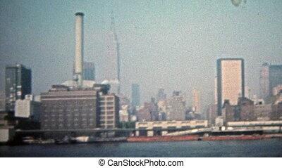 1975: Manufacturing factory - Unique vintage 8mm film home...