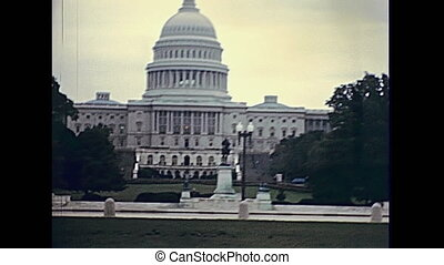 United States Capitol - 1980s old United States Capitol...