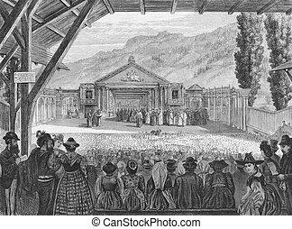19º século, teatro