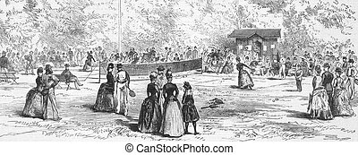 19th Century Tennis in Germany - 19th Century Tennis in...