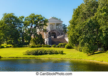 19th June 2018. Tsarskoye Selo, St. Petersburg, Russia. The Palace and Park ensemble - the former Royal country residence.