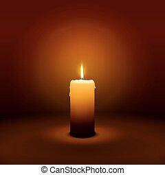 1ero, domingo, de, advenimiento, -, primero, vela, -, candlelight