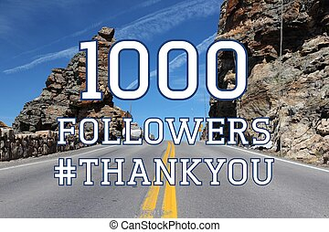 1k followers