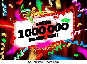 1 Million likes thank you - 1M or 1 Million likes thank you ...