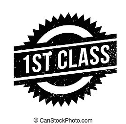 1St Class rubber stamp