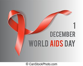 World Aids Day concept - 1st December World Aids Day concept...