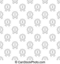 1st place pattern seamless