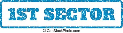 1St Sector Rubber Stamp