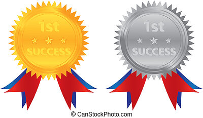 1st success gold silver coin