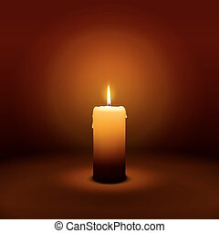 1st Sunday of Advent - First Candle - Candlelight - 1st...