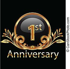 1st year anniversary birthday