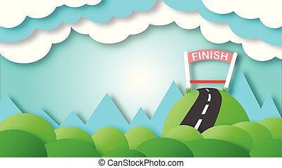 1.The finish line of success