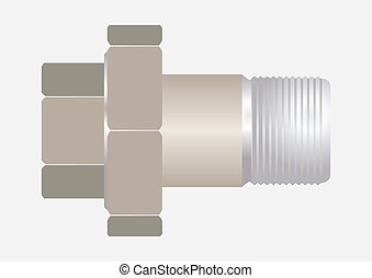 1.Type connection pipe.