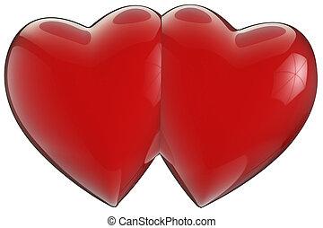 2つの心, 加入された
