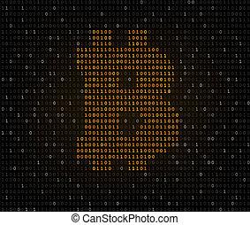 2進, シンボル, コード, bitcoin