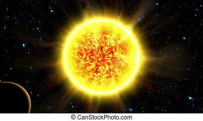 2, éclipse, solaire
