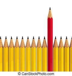 #2, から, -, 立ちなさい, 鉛筆