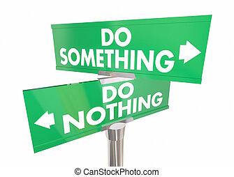 2, イラスト, 何もない, ∥対∥, 何か, 方法, サイン, 行動, 取得, 道, 3d