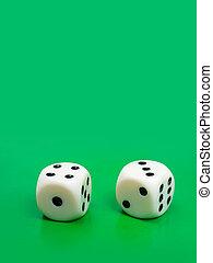 2, ギャンブル, さいの目に切る