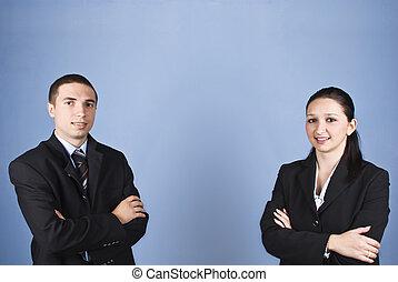 2, ビジネス 人々