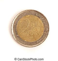 2, ユーロ, コイン