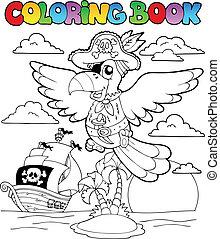2, 主題, 着色, 海賊, 本