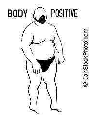 2, 太った男